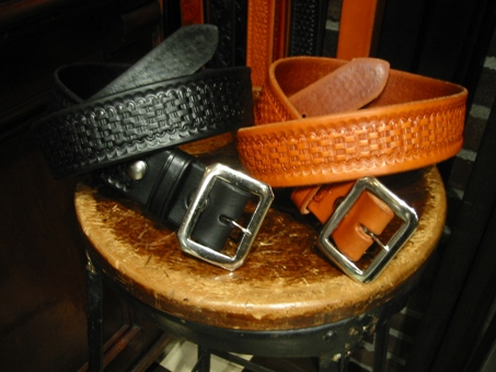Idaho leather basket wave belt001.JPG